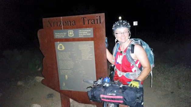 Way to go Cassi! AZT300 finish