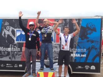 SS podium for Dufek at Estrella!