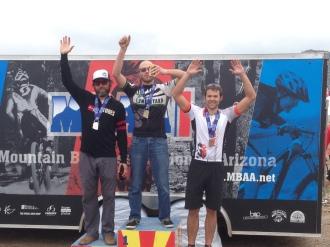 SS podium for Dufek at Estrella!