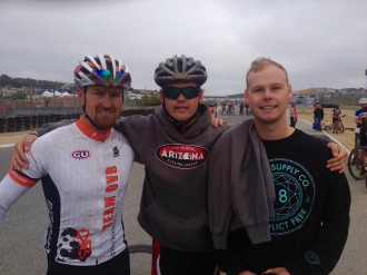 Kit and his boys at Sea Otter