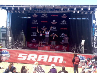 1st in Cat2 SS! Way to go, KIT!