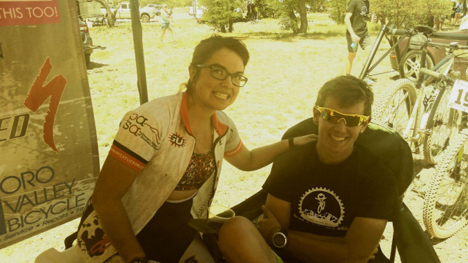 Smiling SV marathoners