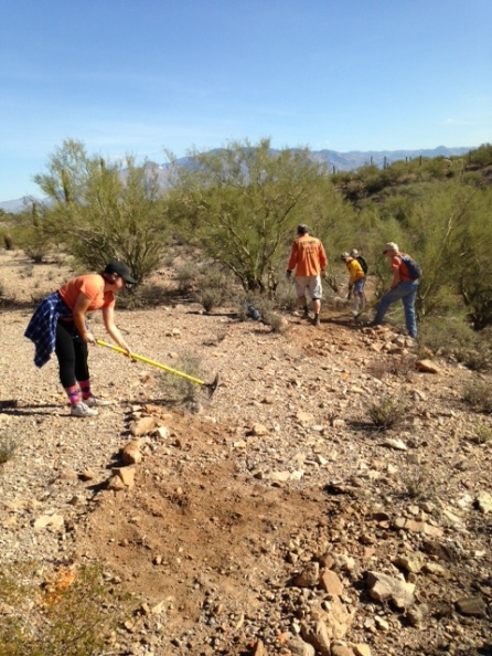 SWP trailwork with SDMB