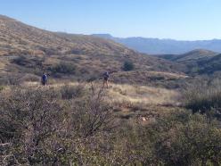 AZT team trail work