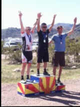 Cat2 45+ Men's Podium: Kevin #2 at White Tank