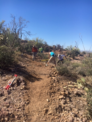 Team Trail Build Day with SDMB
